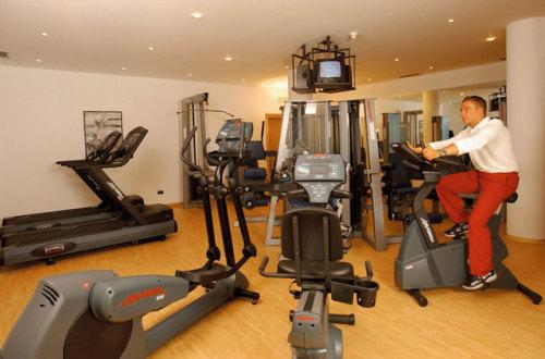 Fitnessraum / Zum Vergrößern auf das Bild klicken